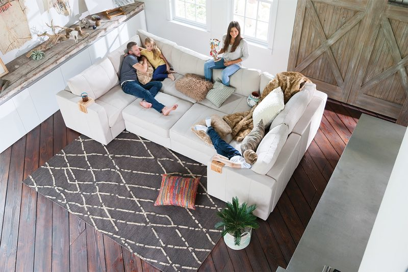 The lovesac Sectional is the ideal media room sectional for the average Dallas, TX home theater owner.