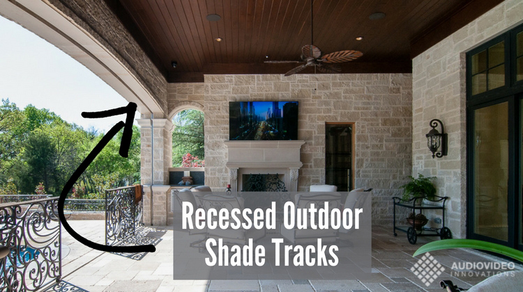 Outdoor motorized screens are the best way to protect your patio from bugs, sun and rain, and to turn your outdoor living area into a 4-season space.