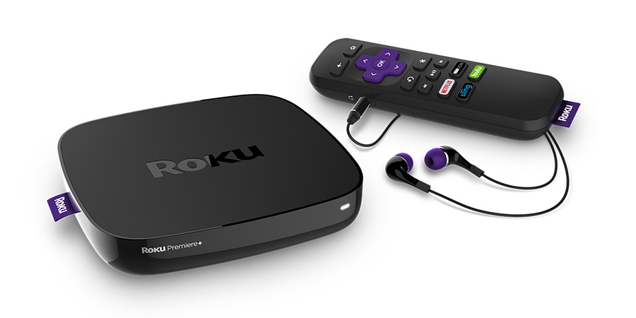 Apple TV Roku Media Streamer Netflix Streaming HBO Now Amazon Instant Roku Premiere