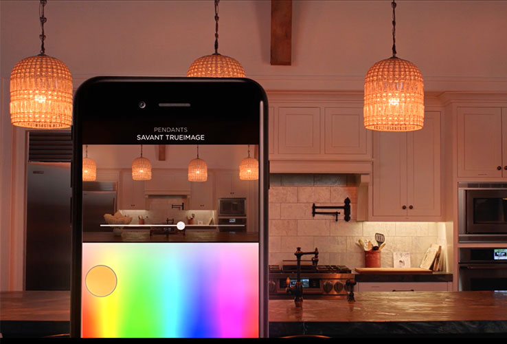 How you can make your Dallas smart home a spooky home for halloween and trick or treat using savant lighting and Phillips Hue.