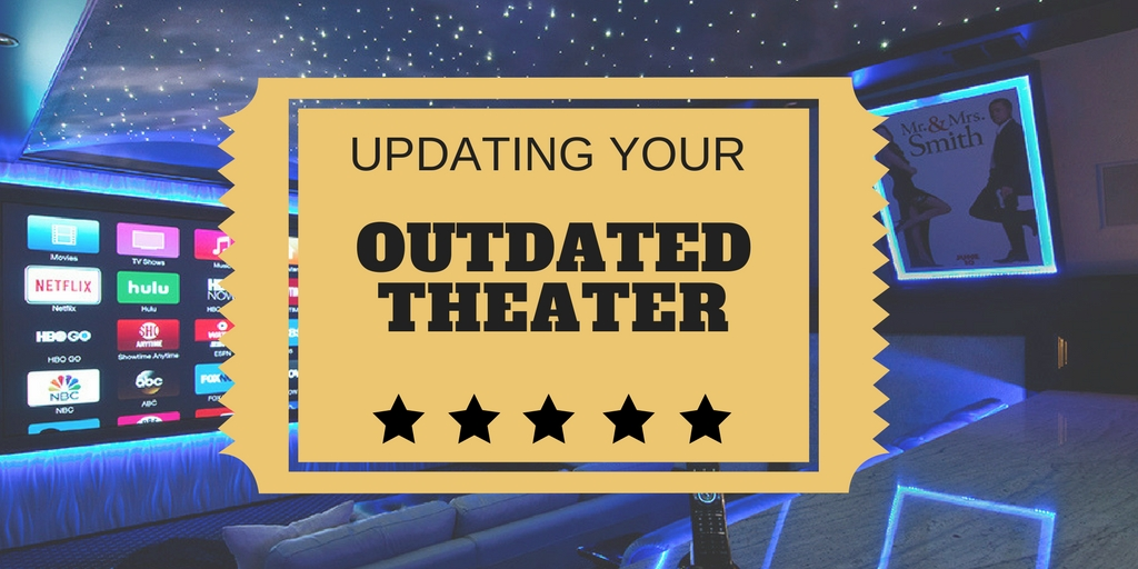 Most Dallas suburban homes have an outdated home theater that needs home theater updates. This is a common problem in Southlake, Frisco and McKinney, TX.