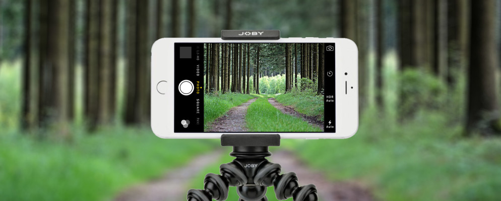 A travel tripod for your smartphone allows you to be in your own photos when you venture away from your Dallas smart home.