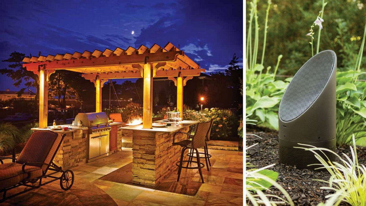 Coastal Source | Landscape Lighting Preston Hollow | Landscape Audio Highland Park
