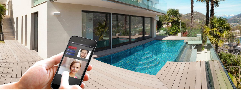 Elan Intercom pool iPhone doorbird