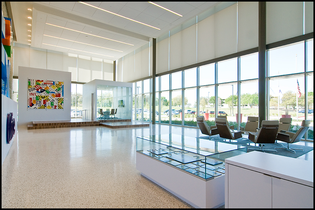 Commercial Lutron Shades
