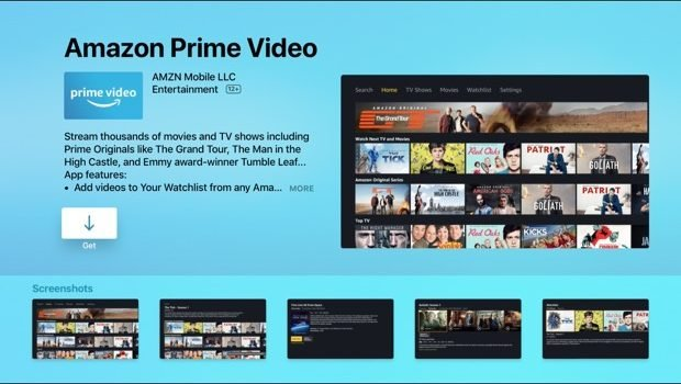 Amazon Prime Video is finally on Apple TV