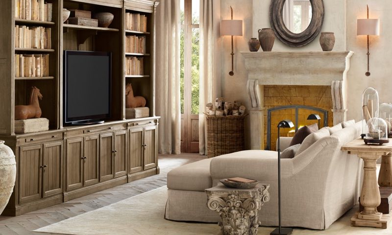 Modern Home theater seating is more like the media room sectional or media room sofa. Most Dallas and Southlake Texas home theaters are actually multi-purpose media rooms.