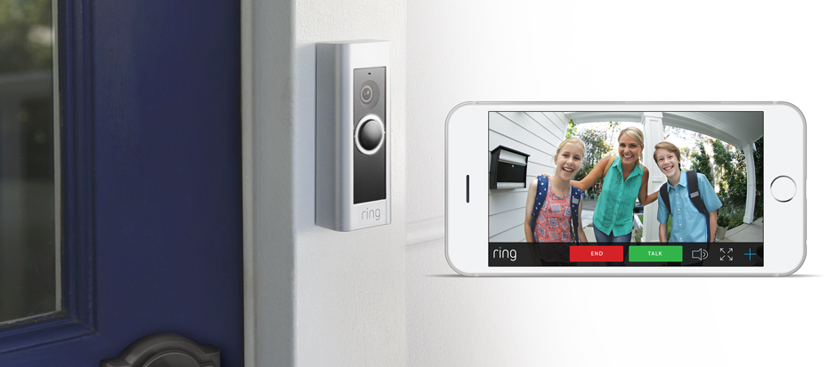 Ring Pro Smart Doorbell iPhone app Dallas, TX