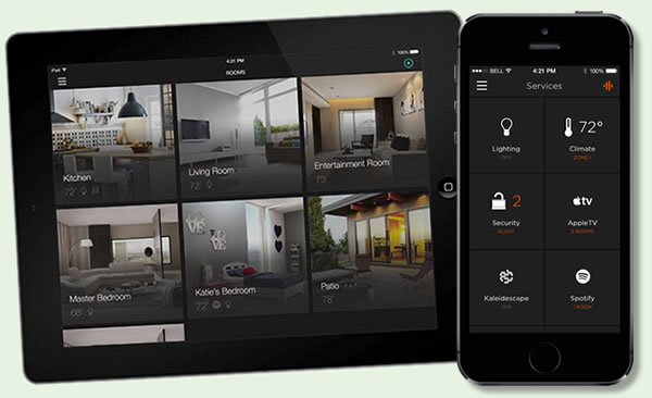 Savant App on iPad and iPhone