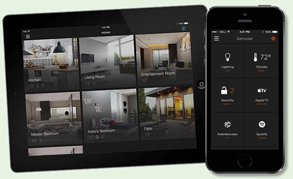 Savant App on iPad and iPhone