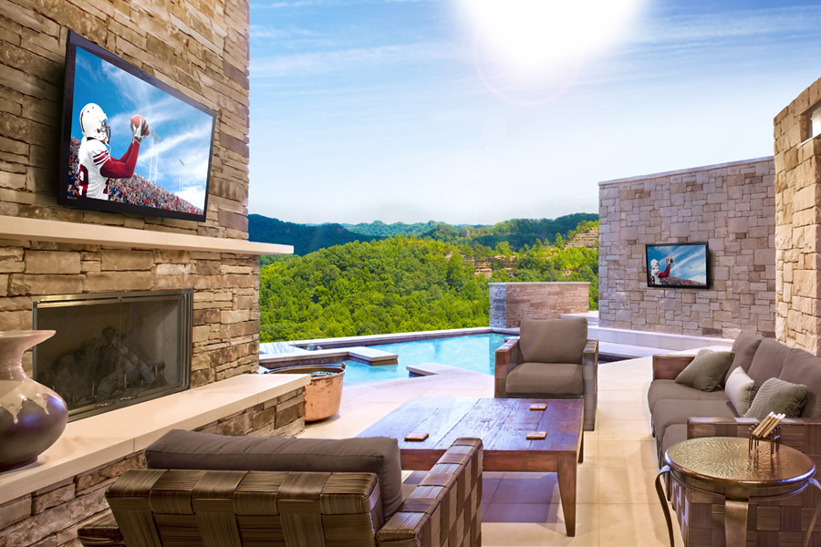 Can I use my INDOOR TV Outside in Dallas, TX?