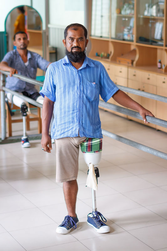 Photo Gallery - Bangladesh Clinic Amputee