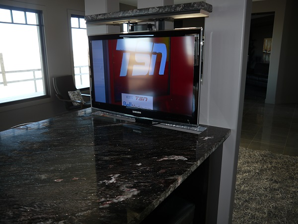 Kitchen TV Up