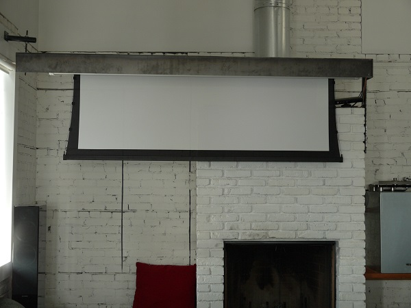 Proj Screen Up