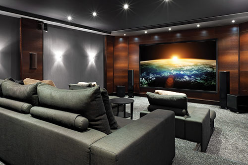 Media Rooms and Home Theaters