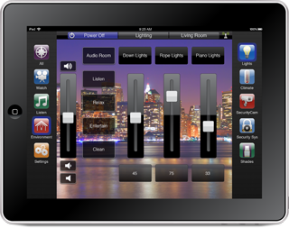 Savant Lighting Ipad