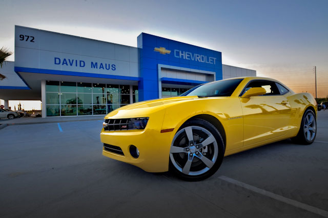 Projects - Commercial - David Maus Chevrolet - 1