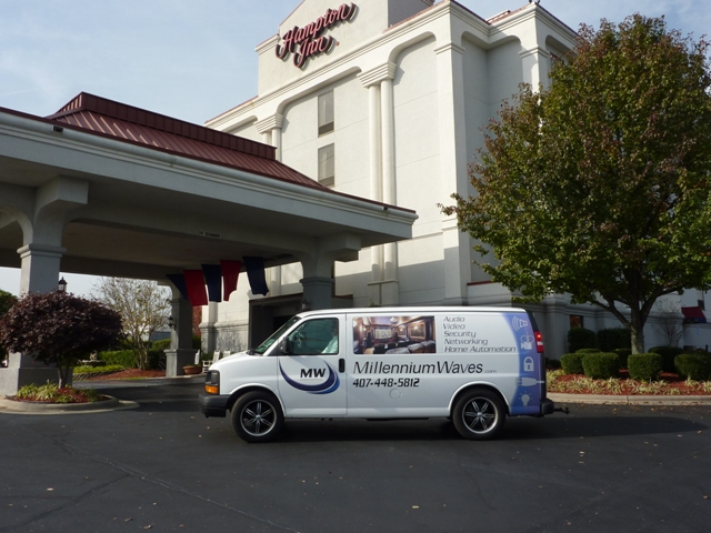 Projects - Commercial - Hampton Inn Winston-Salem - 1
