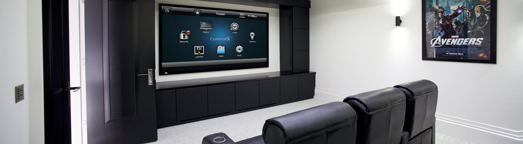 Header - Home Page Slide - Extreme AVS Home Theater- Bridgehampton
