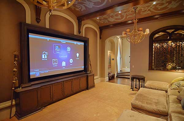 Custom Home Theater Control4