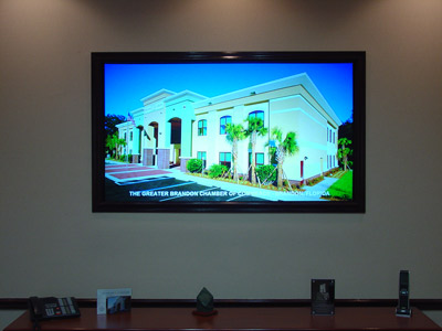 Conference Room TV Ed Taylor Construction