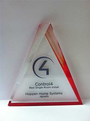 Control4 Award - Best Single Room Install