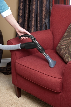 Upholstery attachment Hoppen Home Systems Central Vacuum System 8