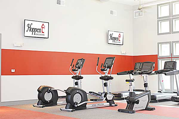 Fitness Center Crosstown Walk Apartments