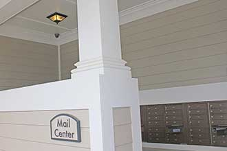 Mail Center with Security Camera