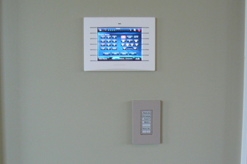 Control Panel for Crestron System