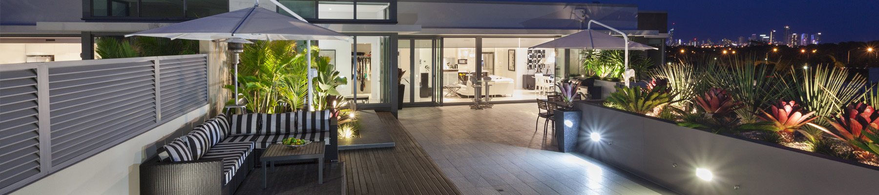 Enhanced outdoor spaces