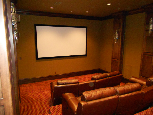 Movie Room |  Lighting Control System Marshall
