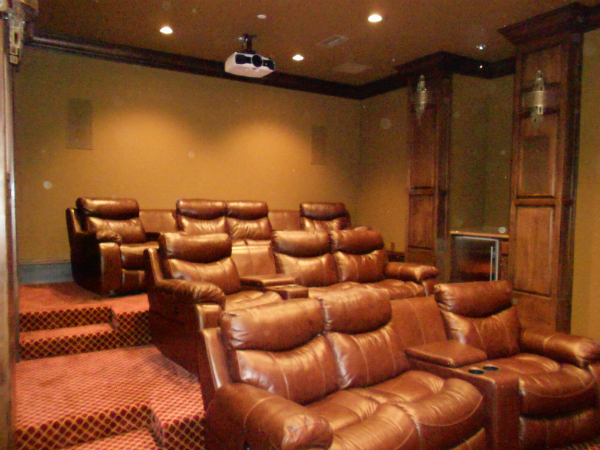 Theater Room | Lighting Control System Marshall