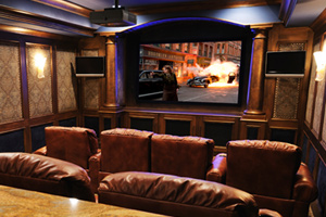 Custom Home Theater | Home Theater Installation Marshall