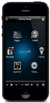 Control4 iPhone - Custom Integrators