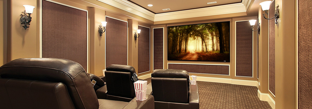 Custom Home Theater Room - Custom Integrators