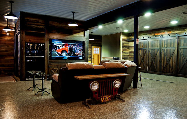 SLH Home Systems - Ultimate Man Cave