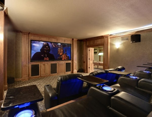 SLH Home Systems - custom home theaters - movie rooms - theater systems - Minneapolis, St. Paul, Minnetonka