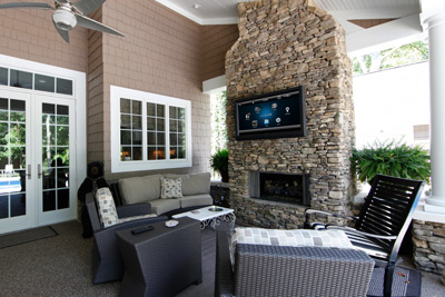 SaaviHome - Services - Outdoor Living, Denver CO, Outdoor TVs