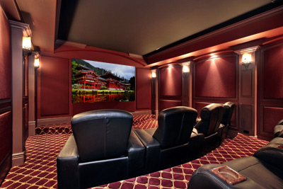 Saavi  Home - Services - Home Theater, Denver CO