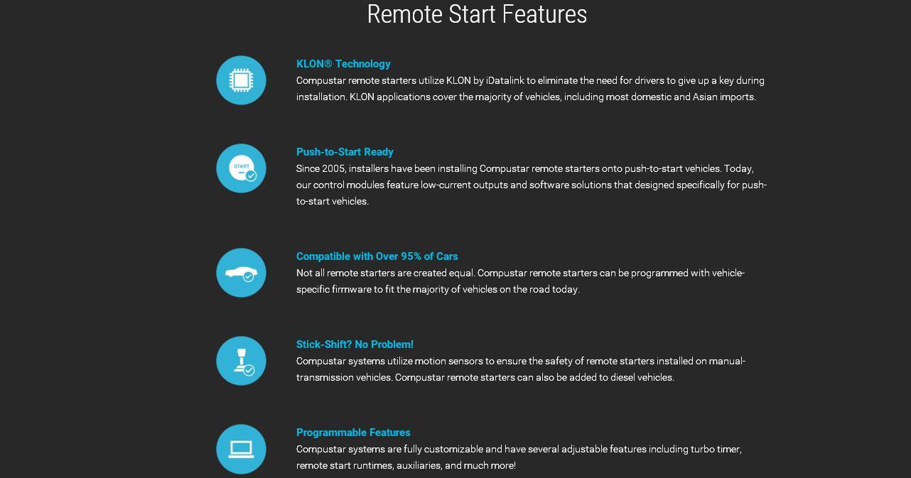 Atemberaubend Compastar Remote Start Installationshandbuch ...