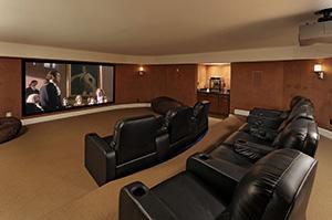 Ergo Audio - Residential Media Room Installation, Erie, Edinboro