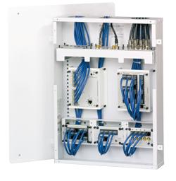 GEHST Structured Wiring Legrand Panel