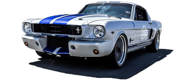 Rod & Custom Motorsports Home - 1966 500 Horsepower Coyote Wide body Mustang Fastback
