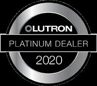Footer - Logo - Lutron 2020 Platinum