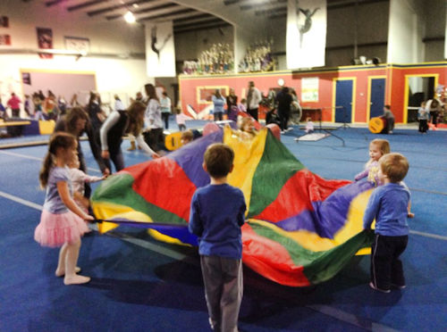 Gymnastic World - Open Gym Activity