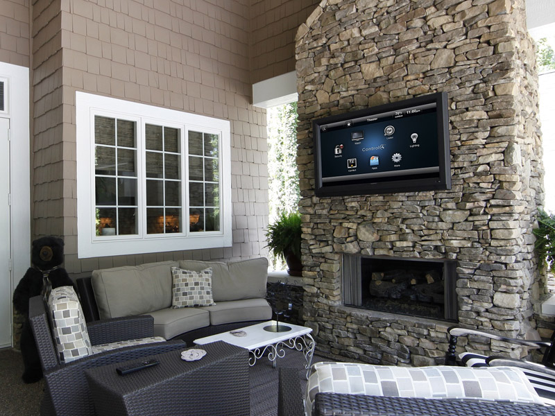 Outdoor TV Brick Mount